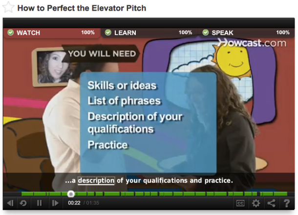 How to Perfect Elevetor Pitch
