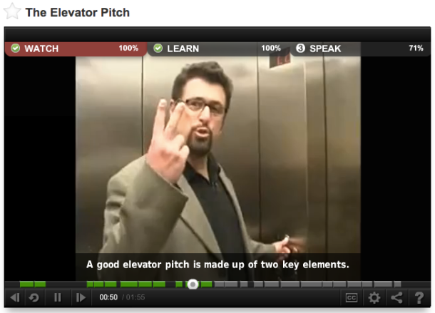 The Elevetor Pitch
