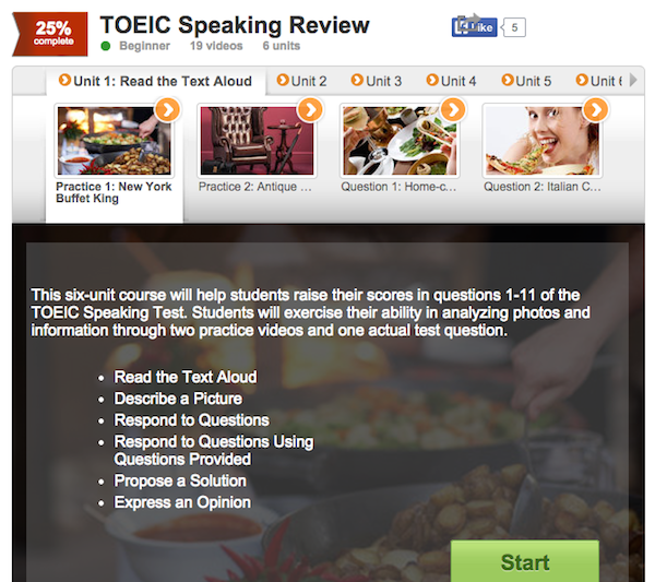 TOEIC-Speaking-course
